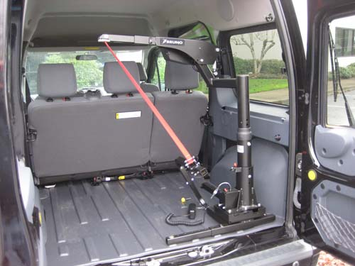 12 Ford Transit Connect Xlt W Bruno Big Lifter